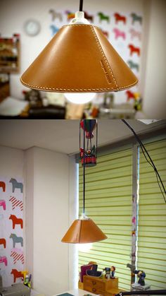 lampshade..NUNO's workroom.