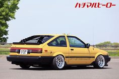 Corolla Ae86, Toyota Corolla, Tuner Cars, Jdm Cars, Honda Civic Hatchback, Car Cleaning Hacks, Japan Cars, Retro Cars, Honda Accord