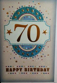 70th birthday card 70th birthday birthday card 70 years old 199 gbp birthday card for 70th years old men women different design ebay home garden m4hsunfo