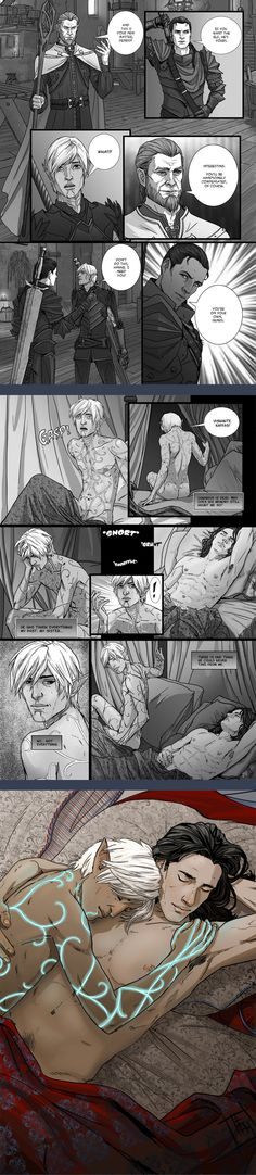 Commission 3 page comic by elfkin