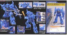 MS-07B Gouf Ver.2.0 (MG) (Gundam Model Kits) Item picture5
