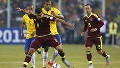 Mira Brasil vs Venezuela en vivo: http://www.envivofutbol.tv/2015/10/ver-partido-brasil-vs-venezuela-en-vivo.html