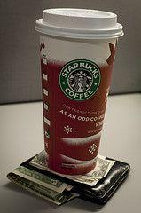 Be a star-savor at Starbucks.