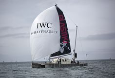 IWC Spinnaker on Plastiki boat