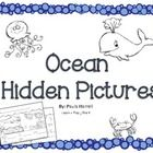 Students will have fun finding ocean themed hidden pictures while practicing counting and number writing. (Numbers 1-5)  Great to use with preschool...