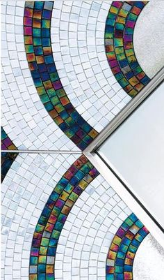 #SICIS #Mirror #Mosaic #Tile #Interiors #Art