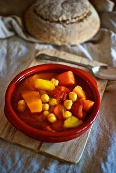 Olla gitana, receta española con Thermomix