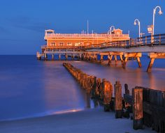 Ocean View Fishing Pier ~ Norfolk, Virginia A great place for locals to enjoy the view of the ocean and relax