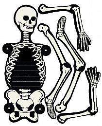 9 Printable Skeleton Crafts | Printable Pages | Pinterest ...