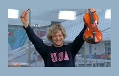 Charlie White and his violin