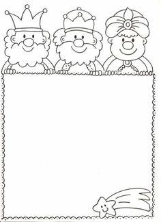 Výsledok vyhľadávania obrázkov pre dopyt tres reis per pintar Cute Christmas Cards, Christmas Arts And Crafts, Preschool Christmas, Xmas Crafts, Christmas Colors, Christmas Projects, Kids Christmas, Clipart Noel, Idees Cate