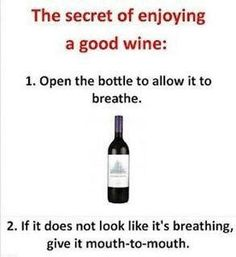 Is your wine breathing?