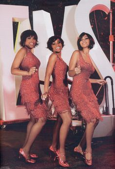 Move, move, move right outta my life! Jennifer Hudson, Anika Noni Rose, Beyonce in Dreamgirls
