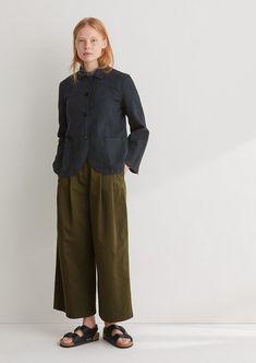 4f8fe3f146 Neat Cotton Linen Jacket Linen Jackets