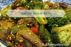 Beef and Broccoli Stir Fry — Counting All Joy