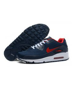 size 40 044f6 75189 Nike Air Max 90 premium leather upper for comfort and durability,flex  grooves for natural movement