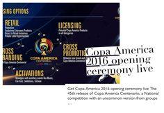 Copa America 2016 opening ceremony live