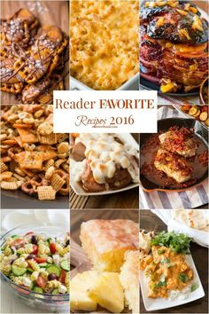 Every year we look back at what the favorite recipes of the year were and this year I didn't guess a single one! Here's the top ten recipes for 2016!