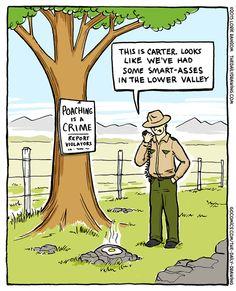 Poach eggs not animals! | Read The Daily Drawing #comics @ http://www.gocomics.com/the-daily-drawing/2015/04/20?utm_source=pinterest&utm_medium=socialmarketing&utm_campaign=social-pin | #GoComics #WebComic