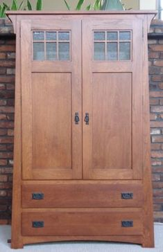 Our Armoire - Craftsman Armoire AMISH made