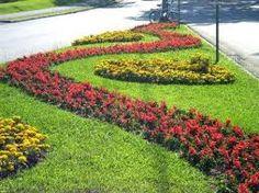 Resultado de imagem para jardim com ixora