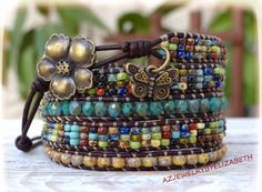 Hey, I found this really awesome Etsy listing at https://www.etsy.com/listing/476859215/seed-bead-wrap-bracelet-five-wrap-seed
