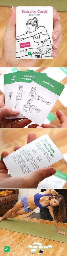 What a fun and simple way to work out anywhere without equipment! Perfect stocking stuffer and fitness gift too. Visit http://WLshop.co http://wlshop.co/?pp=1 #Fitness #Nutrition Pin/Source -