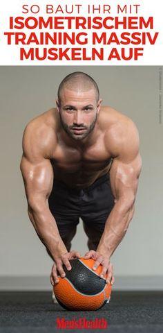 Eine bessere Maximalkraft plus mehr Kraftausdauer – isometrische Übungen garantieren anhaltend massive Muskeln und Muskelwachstum