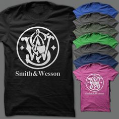 Smith & Wesson Shirt by FearNclothing on Etsy