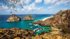 Fernando de Noronha  Located 354 kilometers off the coast of Brazil's northeast state of Pernambuco, the island of Fernando de Noronha is a ...