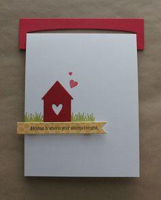 handmade housewarming cards modern handmade personalised new home