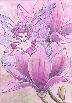 Magnolia Sprite by Mitzi Sato-Wiuff