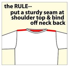How to prevent sweater slipping off shoulders... from the ever-awesome TECHknitting