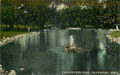 Davenport Iowa | Vanderveer Park, Davenport, Iowa