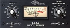 Teletronix® LA-3A Classic Audio Leveler Plug-In - Signature Solid State Electro-Optical Compressor In Powered Plug-In Format - Immediately embraced as a studio workhorse, the LA-3A is still widely used today. Engineers and producers the world over favor the LA-3A for its unique compression characteristics and sonic signature. Modeled from a unit in UA's vintage collection, our digital emulation of the LA-3A faithfully captures the hardware's sound, working magic on vocals, guitars and drums.