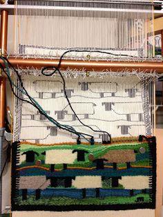 Tapestry Weaving - J Meetze Studio/Common Threads: July 2012