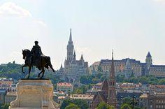 https://flic.kr/p/GyA7vM   Budapest - Kossuth Lajos tér - View on Buda   Pictures by Björn Roose. Magyarország/Hungary, 2015.