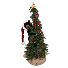 Ditz Designs Climbing Christmas Tree Black Bear 40 >>> This is an Amazon Affiliate link. Click image for more details.