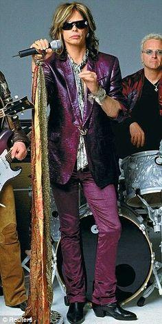 ♥ Steven Tyler ♥ Love the suit!