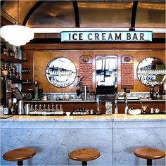 The Most Romantic Date Spots In S.F. #refinery29  http://www.refinery29.com/romantic-spots-in-san-francisco#slide-29  For A Sweet Treat: Ice Cream Bar This sweet Cole Valley spot (soda jerks included) has old-school charm with a modern twist. Even if your date isn't into V-Day, everyone loves ice cream.  Ice Cream Bar, 815 Cole Street (between Fredrick and Carl streets); 415-742-4932.