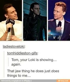 Your Loki is showing