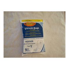 Hoover Windtunnel Upright Type Y Vacuum Bags by Envirocare