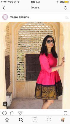 Pakistani Dresses, Indian Dresses, Indian Outfits, Kurta Designs Women, Blouse Designs, Indian Fashion Trends, Sari Dress, Ethnic Dress, Western Dresses