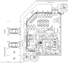 Coffee Shop Design Layout Floor Plan