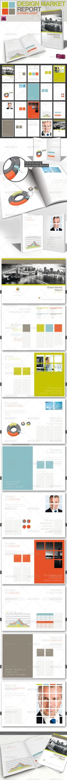 Professional Magazine Template // A4 // 4 Colors Get the source files for download: http://graphicriver.net/item/professional-magazine-template-a4-4-colors/1083744
