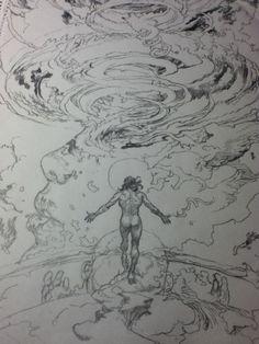 Anime Drawings Sketches, Manga Drawing, Manga Art, Art Drawings, Anime Art, Art And Illustration, Comic Kunst, Comic Art, Fantasy Kunst
