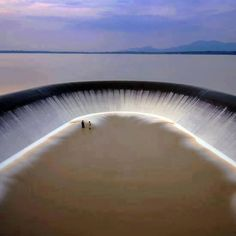 Dam in Rayong, Thailand.