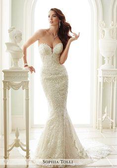 Sophia Tolli Y21671 Milano Wedding Dress photo