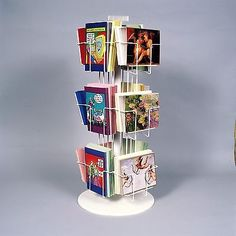 239 best greeting card racks displays images on pinterest in 2018 one 1 12 pocket greeting card counter display spinner rack plastic base 6 pockets horizontal 6 pockets vertical great for cards m4hsunfo