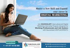 Kaushalam Technology is a Digital Branding & Communication.
